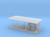 Gas Fueling Station Z Scale 3d printed Gas Fueling Station Z scale