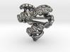 DNA Heart Pendant 3d printed DNA heart pendant