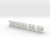 Conderman seat N scale+20% 3d printed