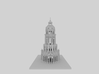 Minecraft Temple  3d printed
