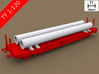 TT Scale Smmps Wagon Steel Tubes Cargo 2 3d printed TT Scale Smmps Wagon Steel Tubes Cargo 2 (Smmps wagon not included)