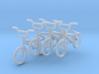 HO Scale BMX Bikes- 4 pack 3d printed