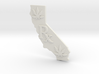 CALIFORNIA  Rx, Pot Leaves, Medical Marijuana, 420 3d printed California Rx, Pot leaf, White Strong Flexible