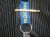 Police Tie Pin  3d printed Great lanyard holder also!