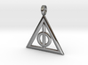 Harry Potter Deathly Hallows Pendant 3d printed