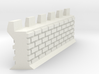 Castle Panic Wall 3d printed