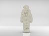 S.A.D. Astronaut _ The Loneliest Man On The MOON 3d printed Back, nickel electroplating