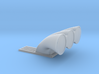 Muscle Machines 3 Equal Hole Injector Hat 3d printed
