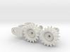 1:16 Motor Mount _TYPE97 TANK with sprocket wheel 3d printed