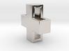 Swiss X Pendant 14mm 3d printed