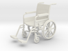 Wheelchair 01. 1:24 Scale 3d printed