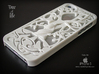 "Iphone 5, 5S case ""Tree of life"" 3d printed White Strong & Flexible Polished (Printed on Shapeways )"