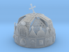 """Hungarian Holy Crown with net - half scale 3d printed Photo about 3dprint """"Hungarian Holy Crown with net"""" Material: Frosted Ultra Detail. You can see the very smallest details on the crown."""