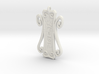 Runic Amulet 01 - 60mm 3d printed