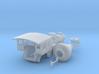 Yonah Boiler Cab & Stack Print Assembly 3d printed