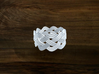 Turk's Head Knot Ring 4 Part X 9 Bight - Size 6.75 3d printed