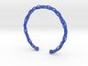 Plastic twist wrist band (M) 3d printed