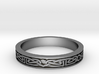 Celtic Ring 01. Size 27mm Diammeter 3d printed