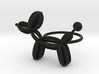 Balloon Dog Ring size 3 3d printed