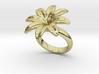Flowerfantasy Ring 33 - Italian Size 33  3d printed