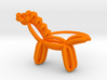 Balloon Horse Ring size 4 3d printed