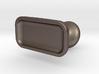 Custom cufflink #05 - Flat 3d printed
