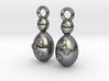 Saccharomyces Yeast Earrings - Science Jewelry 3d printed