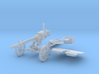 1-18 DSHK Dushka Wheeled Carriage 3d printed