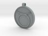 Zodiac KeyChain Medallion-TAURUS 3d printed