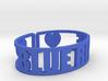 Blue Ridge Cuff 3d printed
