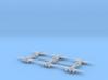 Caproni Ca.314B (In flight) 1/600 3d printed