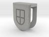Webcam Cover // 8mm // BIG 3d printed 3D Webcam Cover rendering - White Strong & Flexible