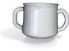 Mug For Two 3d printed