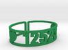 Scatico Zip Cuff 3d printed
