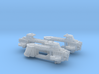 Hermes Imperial Ship Hull value pack 3d printed