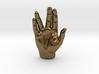 Spock Vulcan Hand Pendant 3d printed