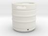 1/10 Scale Beer keg (small) 3d printed
