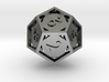 Open 12-sided Die 3d printed