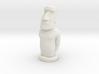 Moai Pawn 3d printed