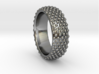 VOMERO Ring 3d printed VOMERO Ring in 925 sterling silver