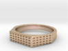 ANGIOINO Ring 3d printed ANGIOINO Ring in 14k Rose Gold Plated