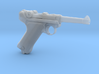 1/4 Scale Luger 3d printed