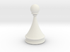 Courier chess pawn 3d printed