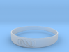 Double Infinity Bracelet ver.2 51mm inside 3d printed