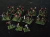 MG144-Aotrs09 Line Infantry Platoon 3d printed