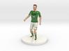 Irish Football Player 3d printed