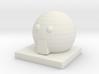 Hachune Miku Simple Face W/ Base 3d printed