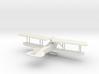 Albatros C.X 3d printed 1:144 Albatros C.X in WSF