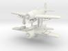 1/285 Grumman F8F-1 Bearcat 3d printed