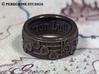 Ring - Goron Lullaby (Size 13) 3d printed Antique Bronze Glossy